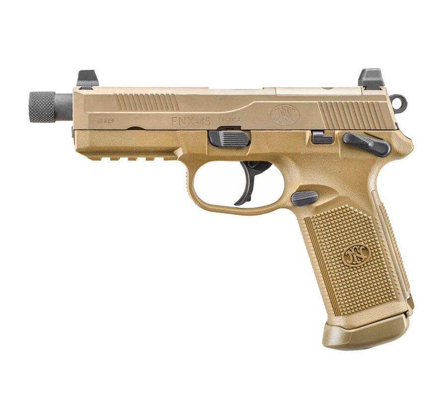 Fn Fnx 45 Tactical 45 Acp Pistol W Night Sights Fde Palmetto State Armory