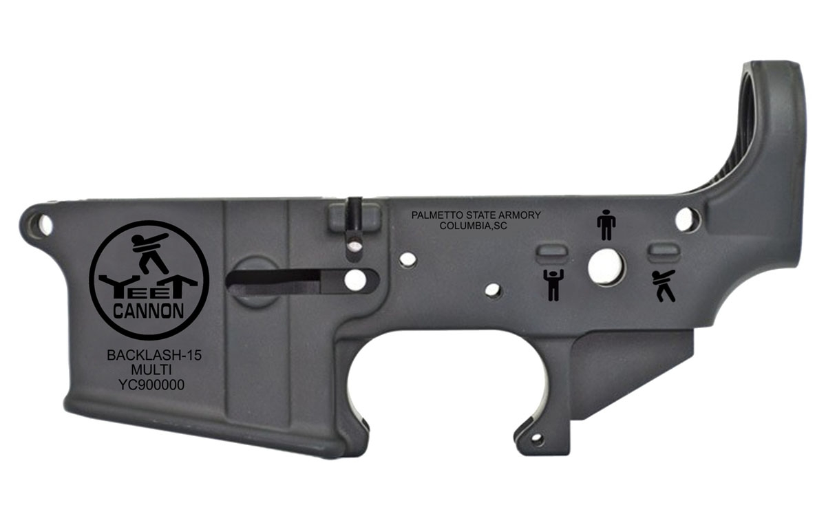 Psa Ar 15 Yeet Cannon Stripped Lower Receiver Palmetto State Armory All jokes and satire aside, we have taken notice and even some admiration for this humble chunk of zamak and plastic. psa ar 15 yeet cannon stripped lower receiver