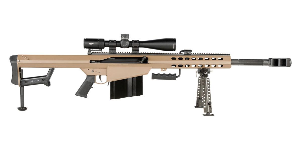 Barrett M82a1 50 Bmg Rifle With Vortex Pst Ii 5 25x50 Rifle Scope Fde Psa Palmetto State Armory