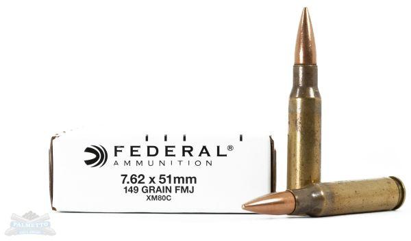 Federal 7.62x51mm Ammo