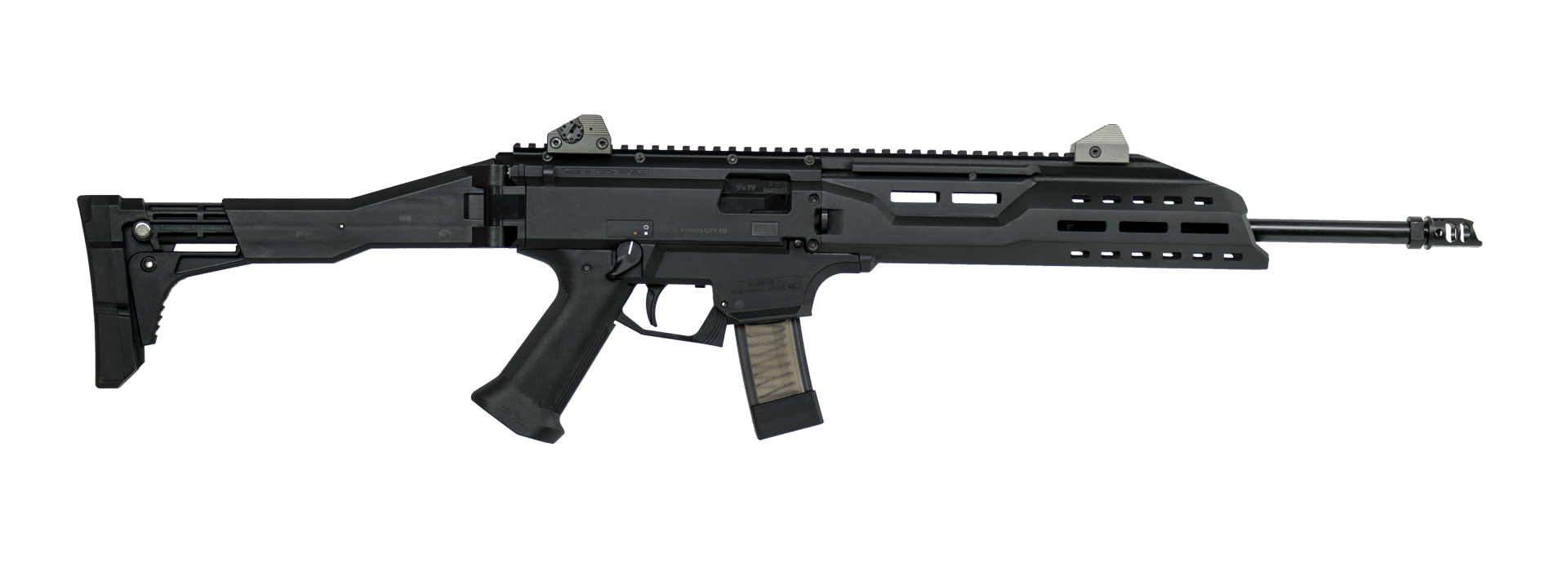 "CZ Scorpion EVO 3 S1 16""Carbine Rifle, 9mm, Black - 08505"