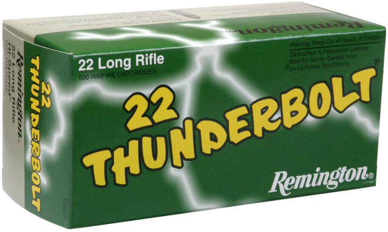 Remington .22 Long Rifle 40gr RN High Velocity (500rd Bulk Pack) - TB22B