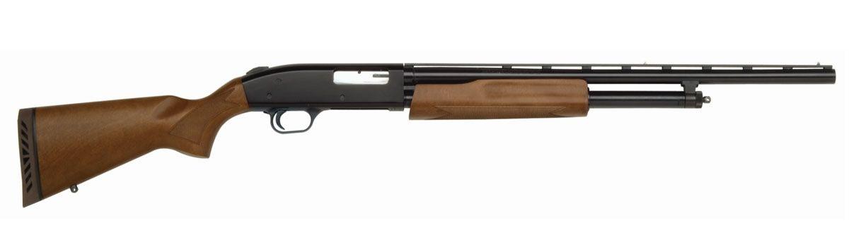 Mossberg 500 Youth 20 GA Pump Shotgun, Wood Finish
