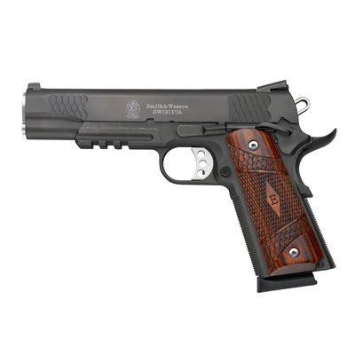 S&W Pistol SW1911TA 45 ACP Tac Rail Wd Grp- - -108409