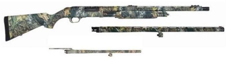 Mossberg Shotgun Combo 535, 3 barrels Mossy Oak Break Up Infinity 12ga 45617