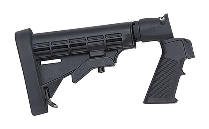 Mossberg Flex 6-Position Tactical Stock, Black Synthetic - 95219