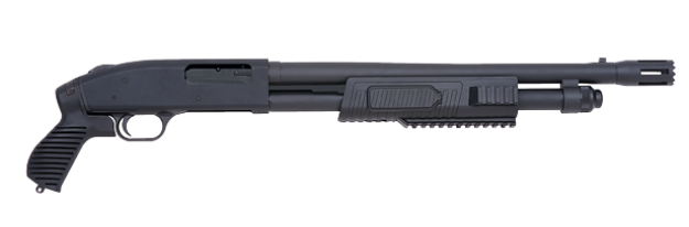 "Mossberg 500 Flex Tactical 12ga 18.5"" Pistol Grip Shotgun 50673"