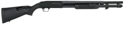 "Mossberg 590 Tactical Tri-Rail 20"" 12ga Black Synthetic Stock 50772"