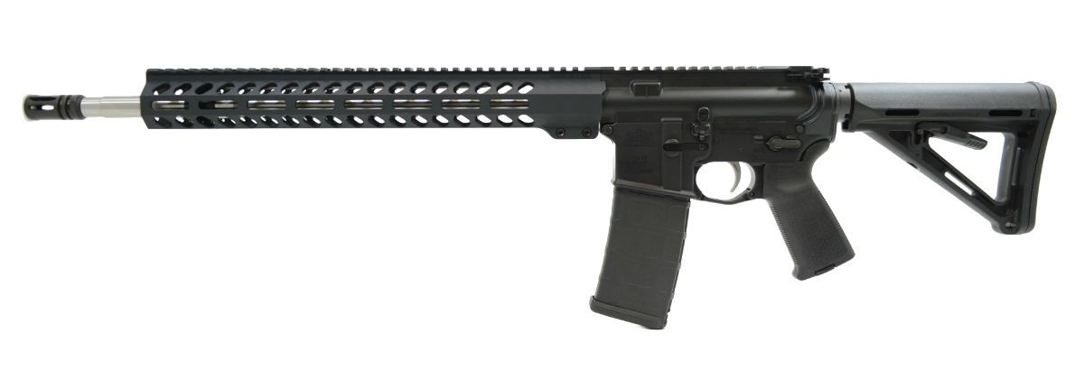 "PSA 18"" Rifle Length .223 Wylde 1/7 Stainless Steel M-Lok MOE EPT Freedom Rifle - 516447014"