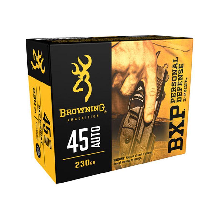 Browning .45 ACP BXP 230gr JHP 20rds - B191700451