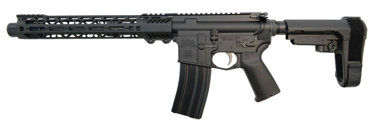 "PSA 10.5"" Pistol Length 300AAC 1:8 Phosphate 12"" Slant M-LOK MOE EPT SBA3 Pistol - 5165448816"