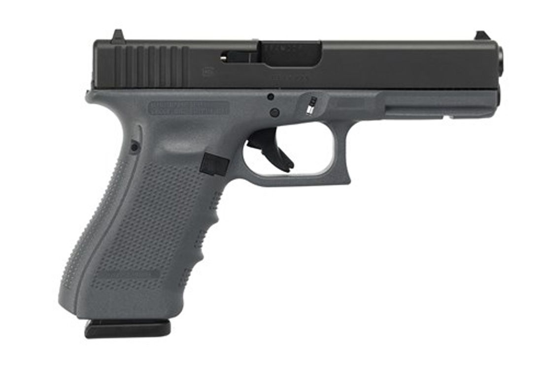 Glock 22 Gen 4 .40 S&W Full Size 15 Round Pistol, Gray - PG2250203GF