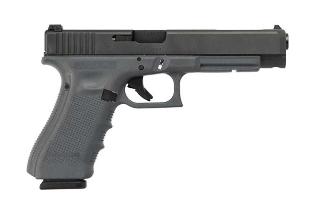 "Glock 35 Gen 4 .40 S&W 5.31"" 15 Round Pistol, Gray - PG3530103GF"