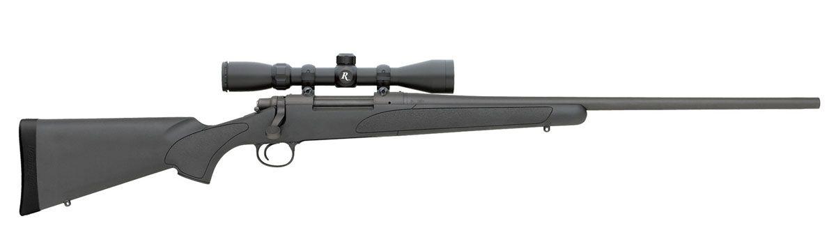 "Remington Model 700 ADL .243 Win 24"" Rifle w/ 3-9x40mm Scope, Synthetic - 27093"