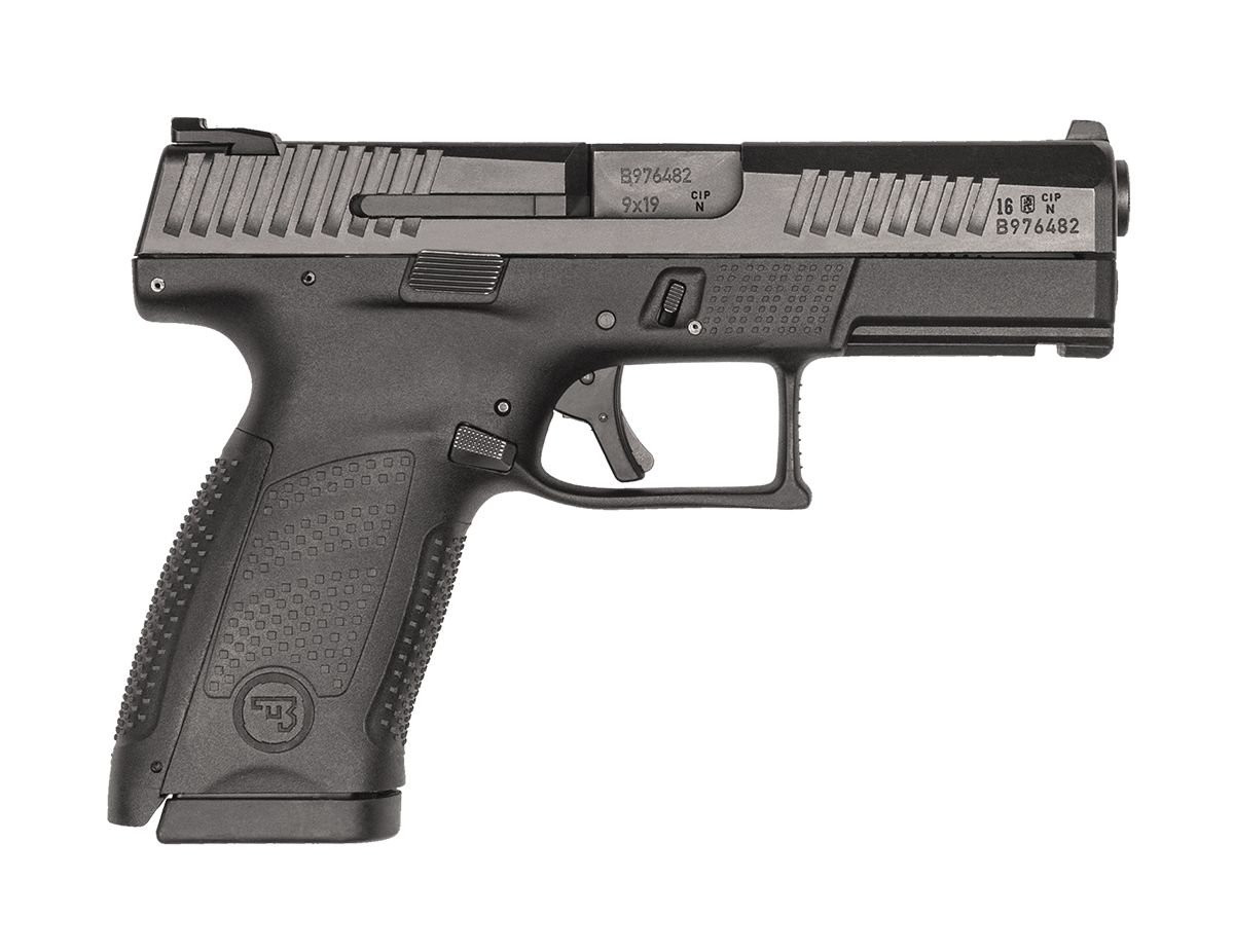 CZ P-10 C 9mm Pistol, Black - 91520
