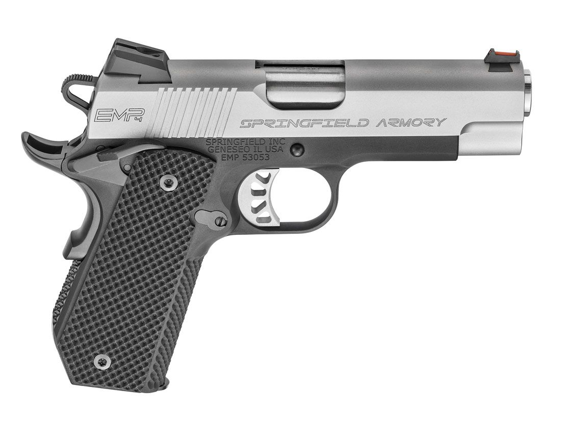 "Springfield Armory 1911 EMP 4"" Concealed Carry Contour 9mm Pistol - PI9229L"
