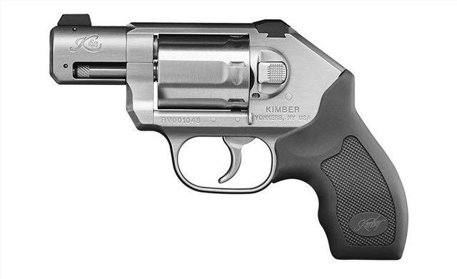 """Kimber pistol K6s Revolver-Stainless 2"""" barrel,.357mag, 6 shot-4000010"""