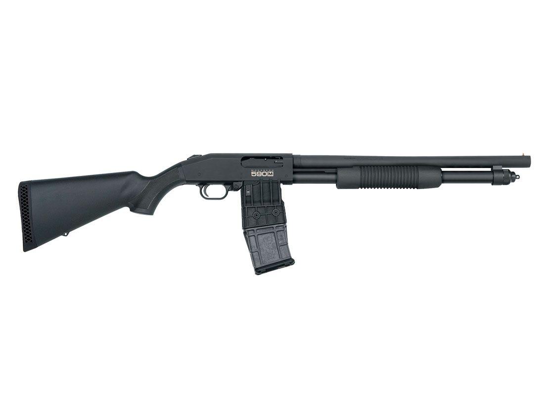 Mossberg 590M Mag-Fed 12ga Pump Action Shotgun - 50205