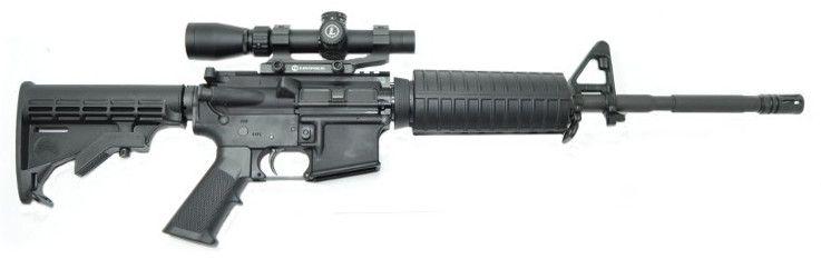 """PSA 16"""" M4 Premium Leupold Mark AR Rifle"""