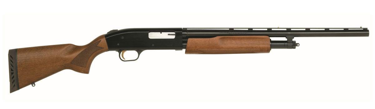 Mossberg 505 Youth 20 GA Pump Shotgun, Wood Finish