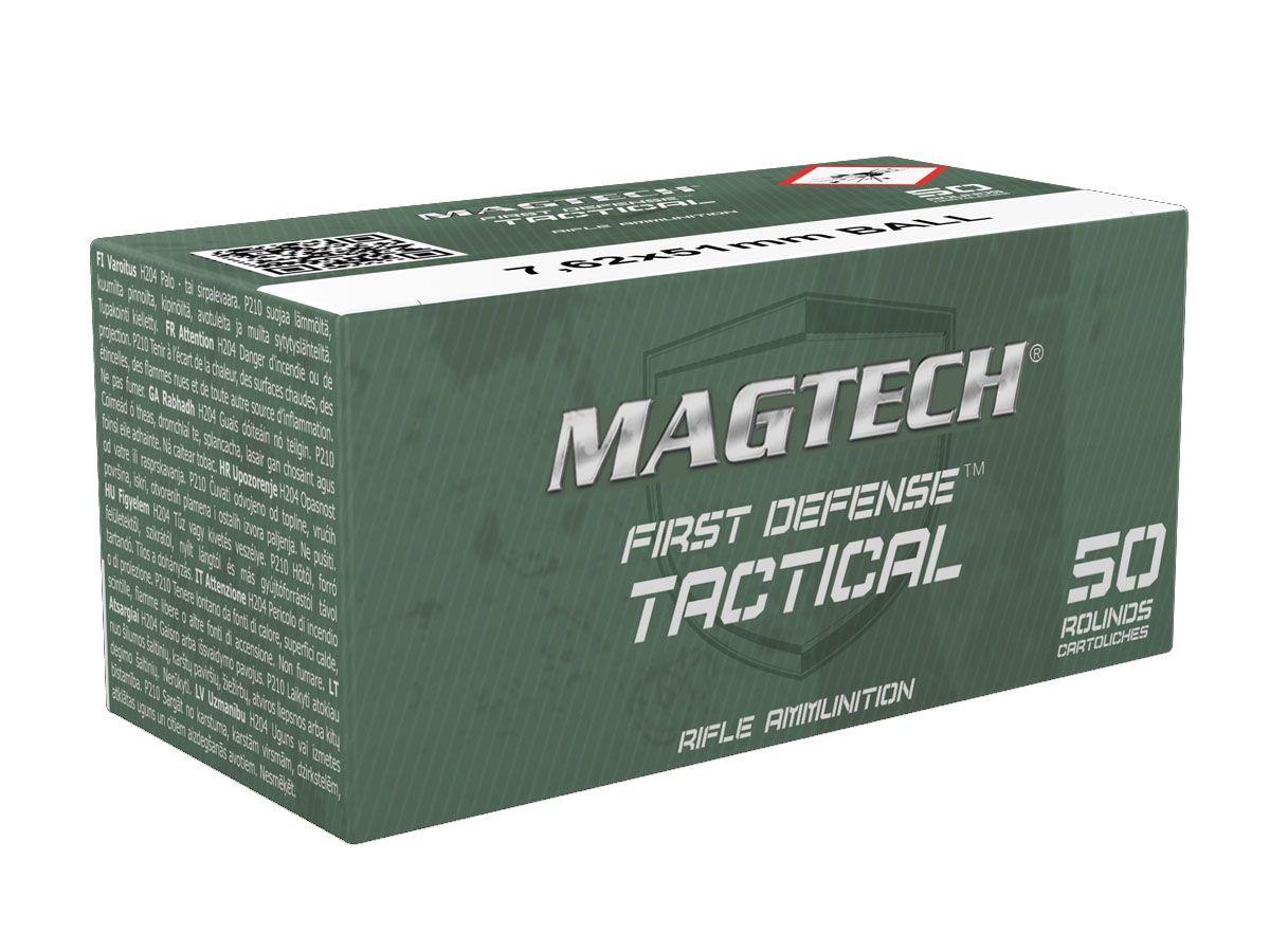 Magtech 7.62 NATO (.308) 147 gr FMJ Ammunition, 20 Rounds - MEN762A