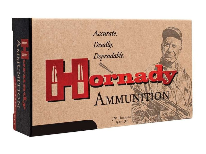 Hornady 22 Hornet 45gr SP Match Custom Ammunition, 50 Round Box