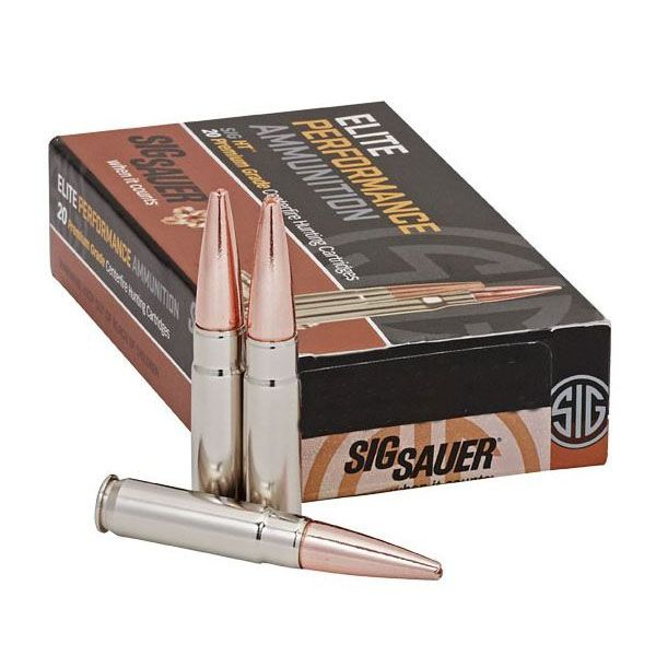 Sig Sauer 223 Remington 77gr Elite Match Grade OTM Ammunition, 20 Round Box