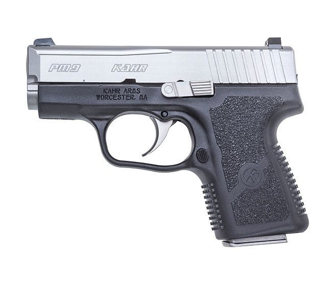 Kahr PM9 9mm Stainless Slide Pistol with Night Sights - PM9093NA