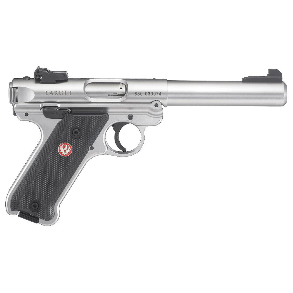 Ruger Mark IV Target .22 LR 5.5