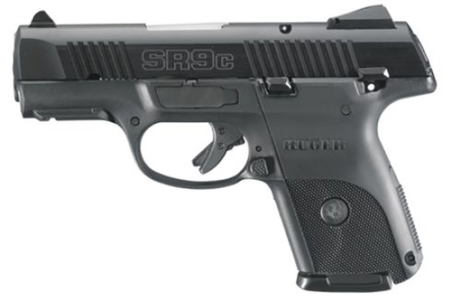 Ruger SR9C 9mm Black Nitride Finish Pistol - 03317