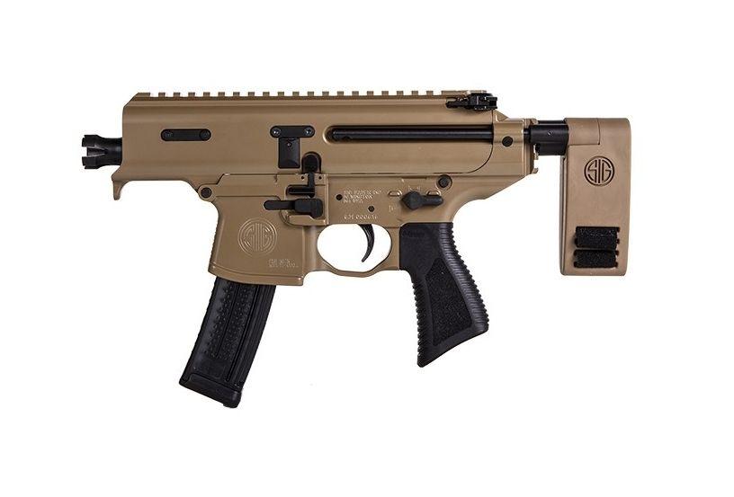 Sig Sauer MPX Copperhead 9mm AR Pistol, Coyote Tan - PMPX-3B-CH