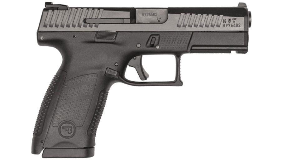 CZ P-10 Compact .40 S&W Pistol, Black - 91525