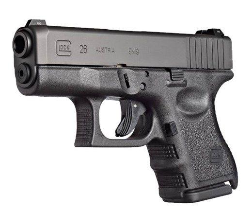 Glock 26 Gen 3 9mm Pistol with Fixed Sights - PI2650201