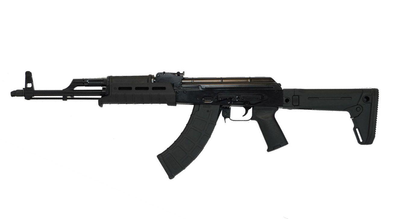 """PSAK-47 GB2 Liberty """"MOEkov"""" Rifle, Black & PSA MOE AR-15, Black with Matching Serial Numbers"""