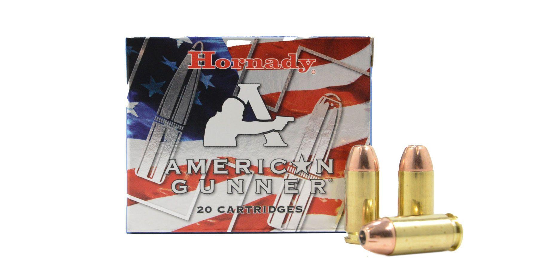 Hornady .40 S&W 180gr XTP American Gunner Ammunition, 20 Round Box