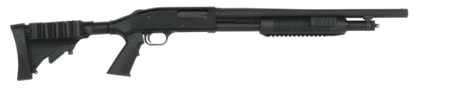 Mossberg 500 Tactical Tri-Rail Black Synthetic Stock 50421