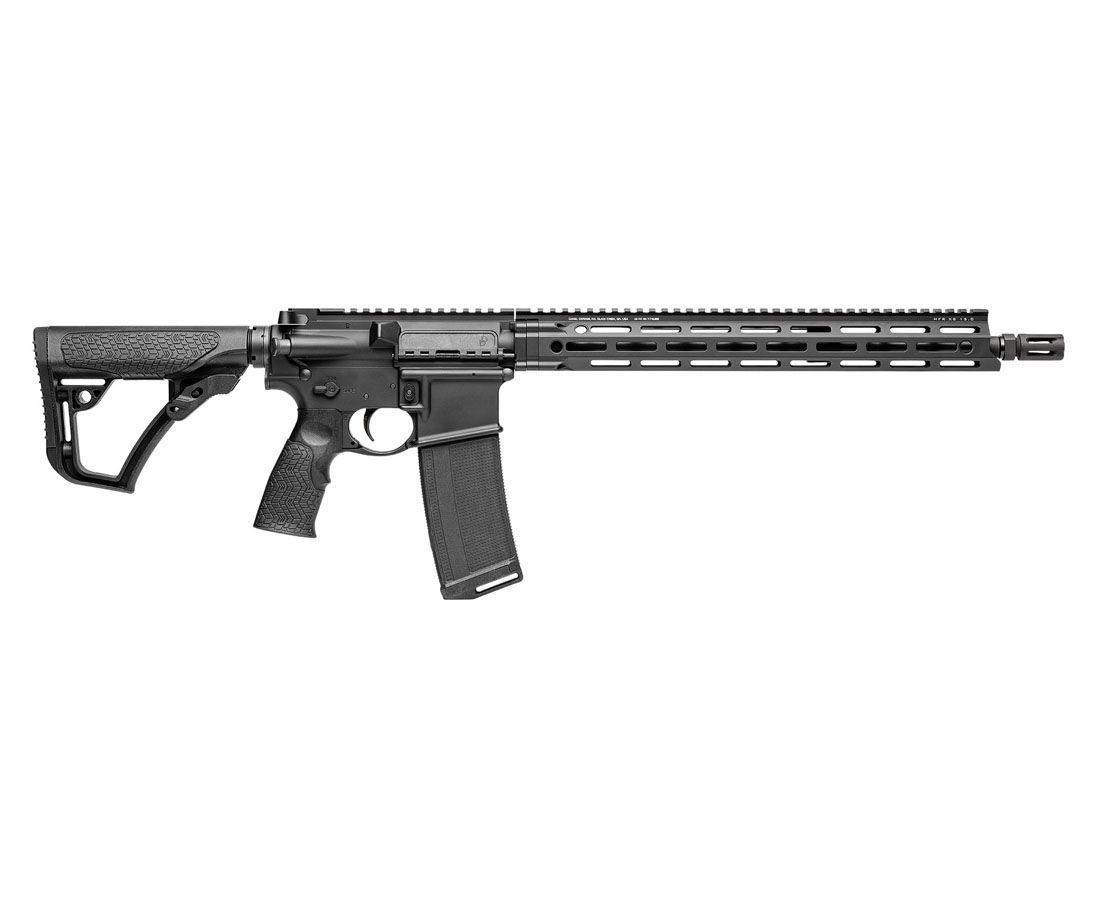 """Daniel Defense DDM4 V7 M-LOK 16"""" 5.56mm NATO Rifle, Black – 02-128-02081-047"""