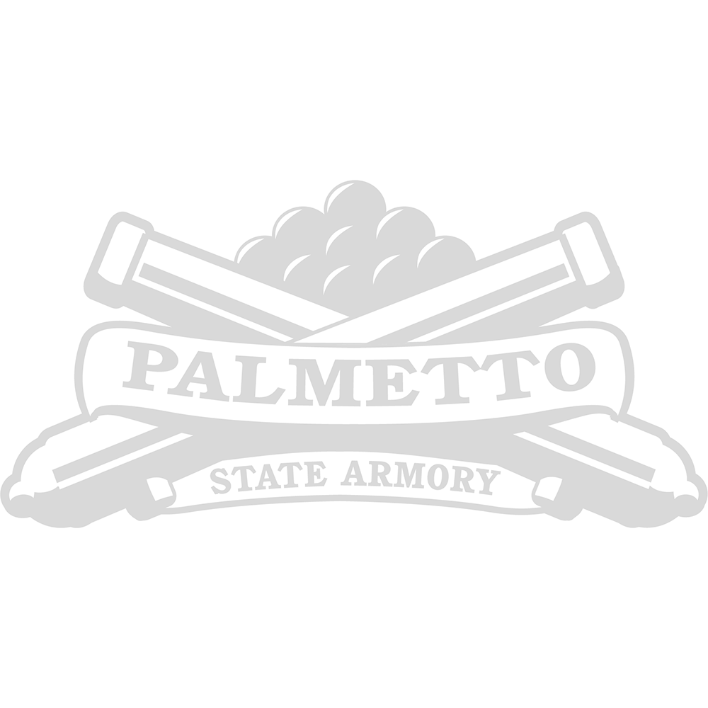 "Kwik-Site 1"" or 0.875"" See-Thru Grooved Receiver Mount, Matte Black - KSN-22"