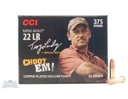 """CCI .22 Long Rifle """"Choot EM!"""" 375rd Pack- - -961"""