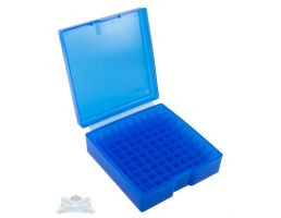 Frankford Arsenal 1007 Plastic Ammo Box 44SPC & 44 MAG Blue 100rd 912544