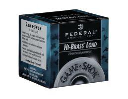 "Federal .410 Bore 3"" 2/3 oz. #6 Game-Shok Upland Hi-Brass 25 Shotshells  - H413 6"