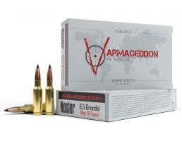 Nosler 6.5 Grendel 90 grain Varmageddon Rifle Ammo