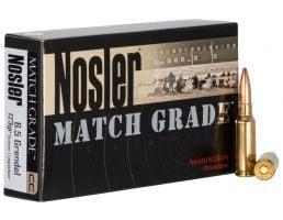 Nosler Match Grade 6.5 Grendel 123 grain Ammo