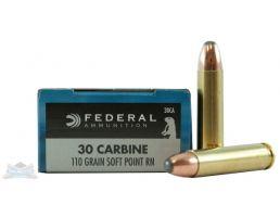 Federal .30 Carbine Ammo