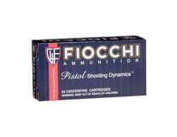 Fiocchi .44 Magnum 240gr JHP Ammunition, 50 Round Box - 44D500