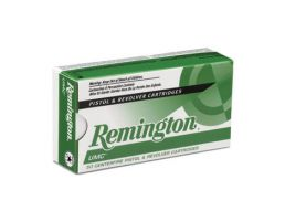 Remington UMC .380 Auto/ACP 95 gr FMC Pistol Ammunition, 50 Round Box - L380AP