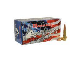 Hornady 300 AAC Blackout 125gr HP American Gunner Rifle Ammunition, 50 Round Box - 80897