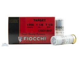 "Fiocchi 12ga 2.75"" 1-1/8oz #7.5 Target Shotshell Ammunition 25rds - 12SD18H7"