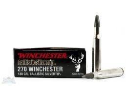 Winchester 270 130gr Ballistic Silvertip Rifle Ammunition 20rds - SBST270