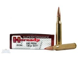 Hornady 280 Remington 139gr SST Superformance Ammunition 20rds - 81583